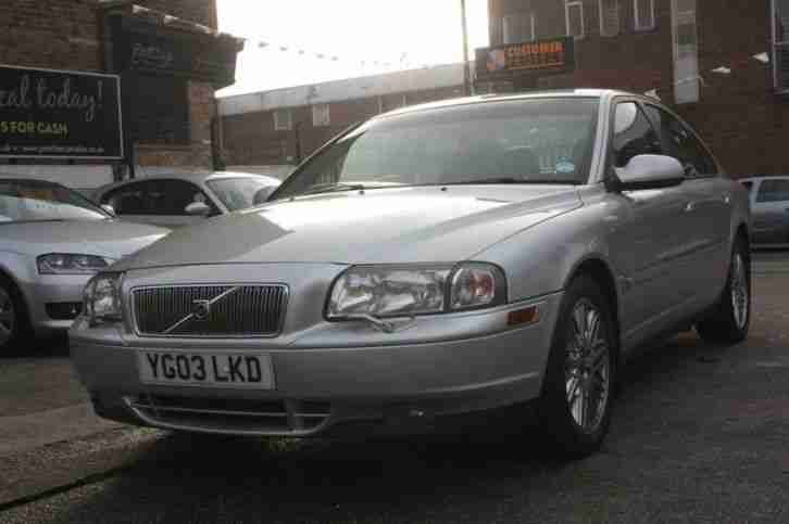 VOLVO S80 D5 SE 2003 Diesel Manual in Silver