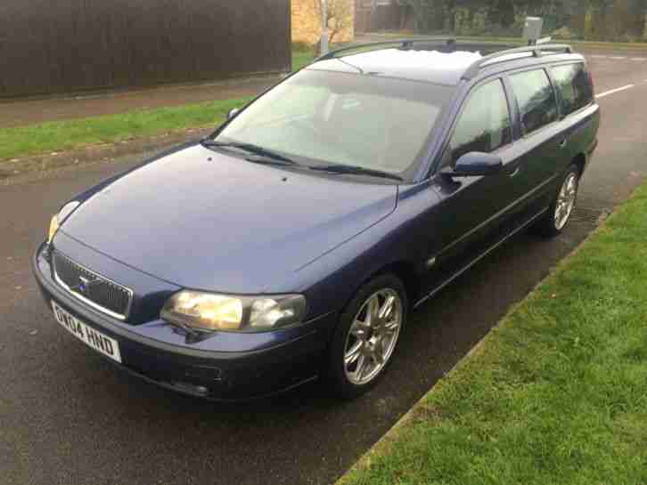 VOLVO V70 ESTATE 2004 2.4 PETROL FULL LEATHER FULL MOT