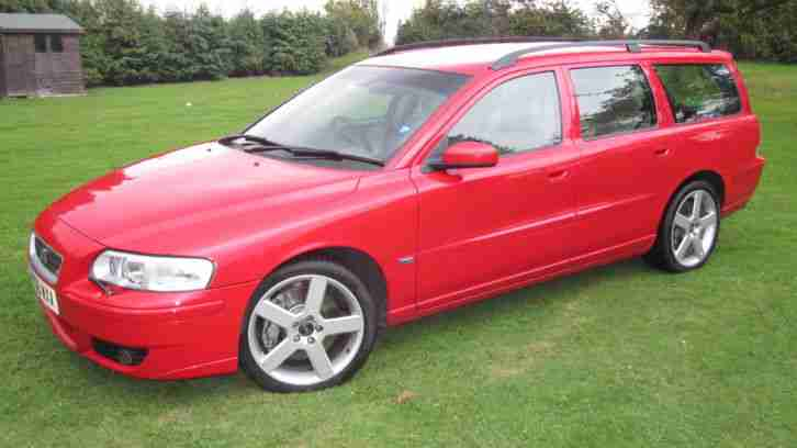 volvo v70 r awd 300bhp manual 7 seater 2006 full history hpi clear. Black Bedroom Furniture Sets. Home Design Ideas