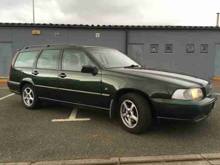 Volvo V70 XT. Volvo car from United Kingdom