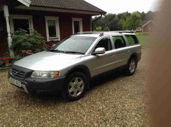 Volvo XC 70. Volvo car from United Kingdom
