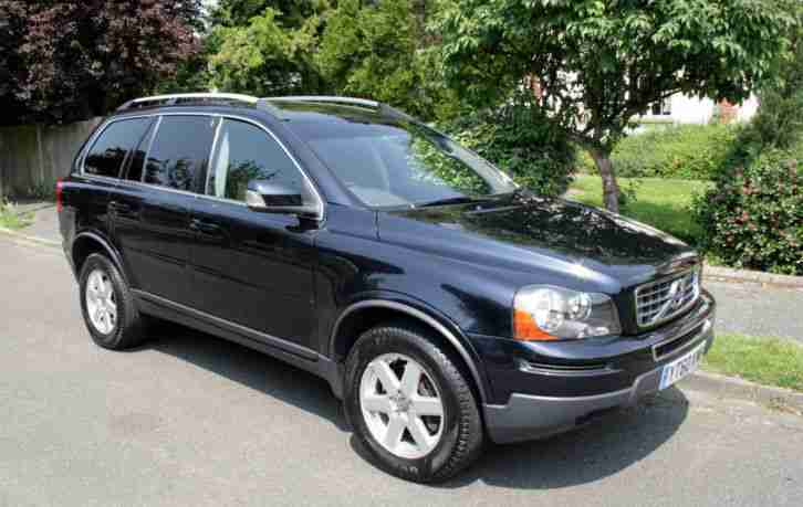 volvo xc90 2 4 d5 active awd 2010 60 reg 55 700 miles 7 seater car for sale. Black Bedroom Furniture Sets. Home Design Ideas