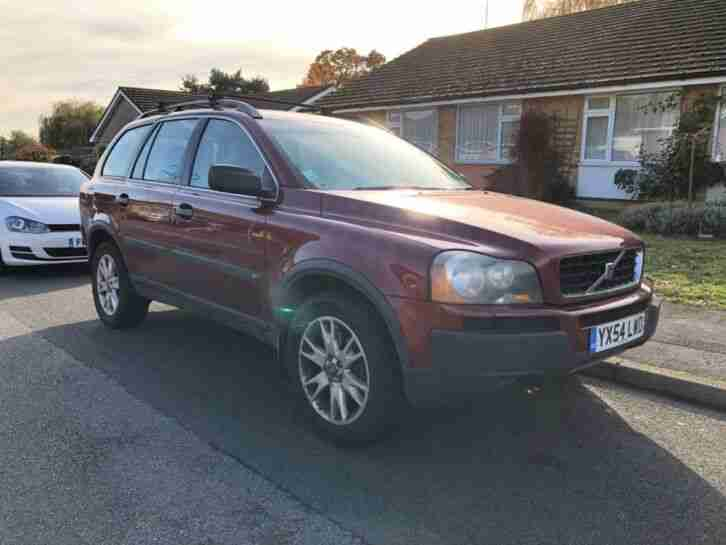 XC90 AUTO 7 SEATER FSH RED 54 REG