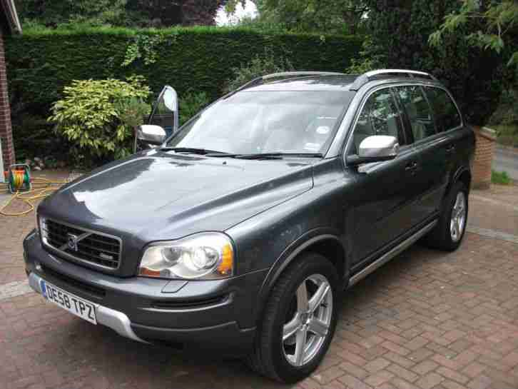Volvo XC90 R. Volvo car from United Kingdom