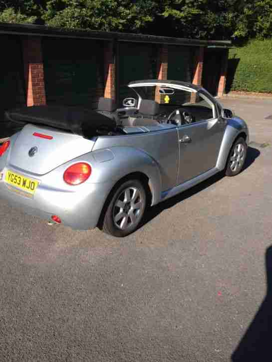VW BEETLE CABRIOLET 2.0L 03 3 OWNERS FROM