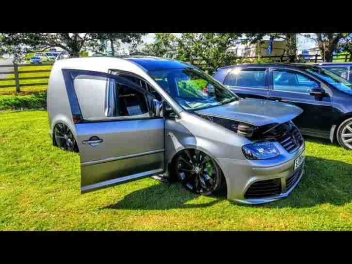 Vw Caddy Camper On Air Ride Tdi 140 Show Car Custom One