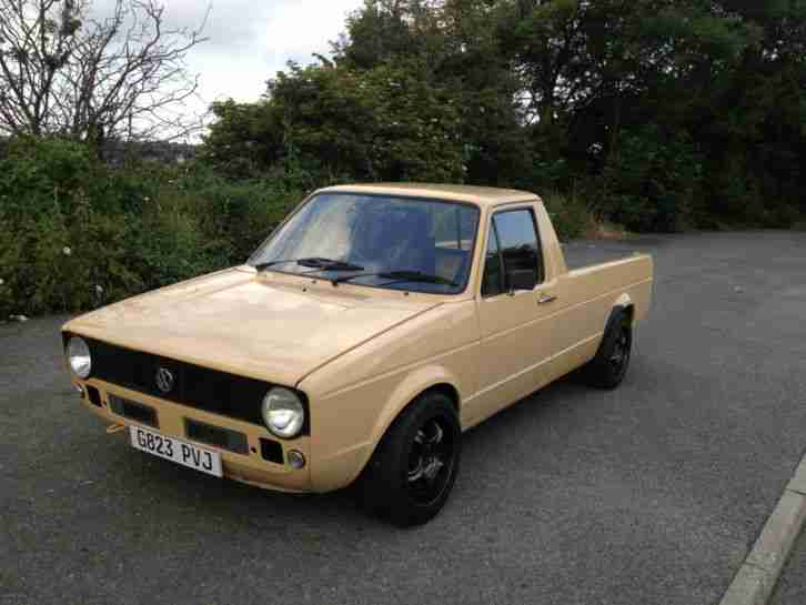 Vw Caddy Mk1 Pick Up Car For Sale