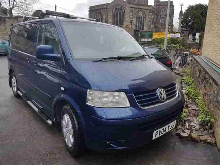 VW Caravelle, Blue. Other car from United Kingdom