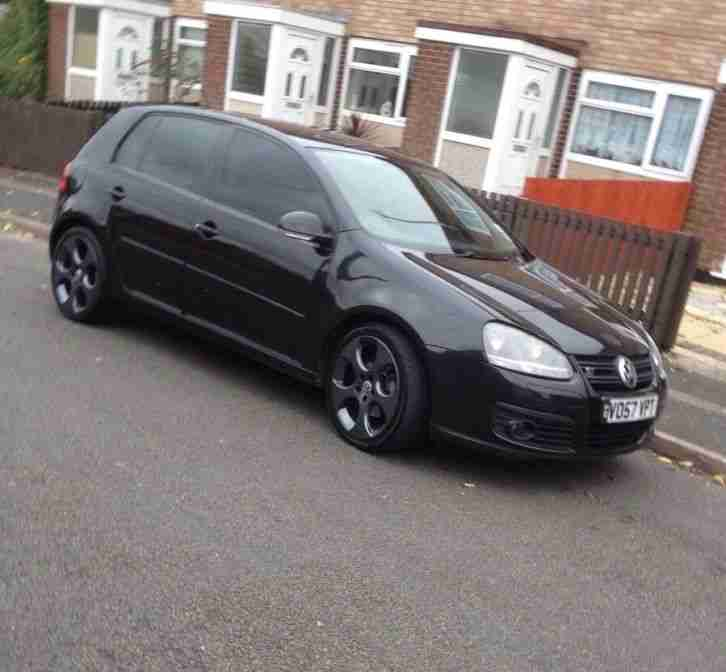 vw golf gt tdi sport 140bhp black manual diesel car for sale. Black Bedroom Furniture Sets. Home Design Ideas