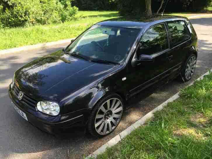 VW GOLF GTI TURBO WITH 19INCH RIMS YEARS