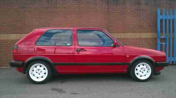 Vw Golf Mk2 Gti 16v Red Trackday Car For Sale