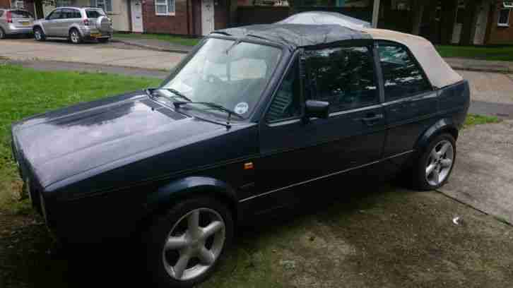 VW Golf Cabriolet MK1 spares or repair