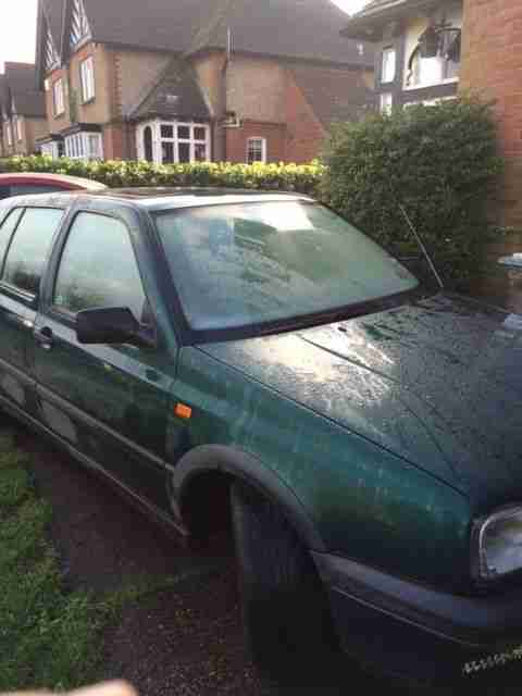 VW Golf GTI 1984cc Reg 1995 5dr (car is running fine but no MOT)