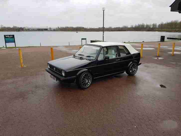 VW Golf MK1 Convertable 1982