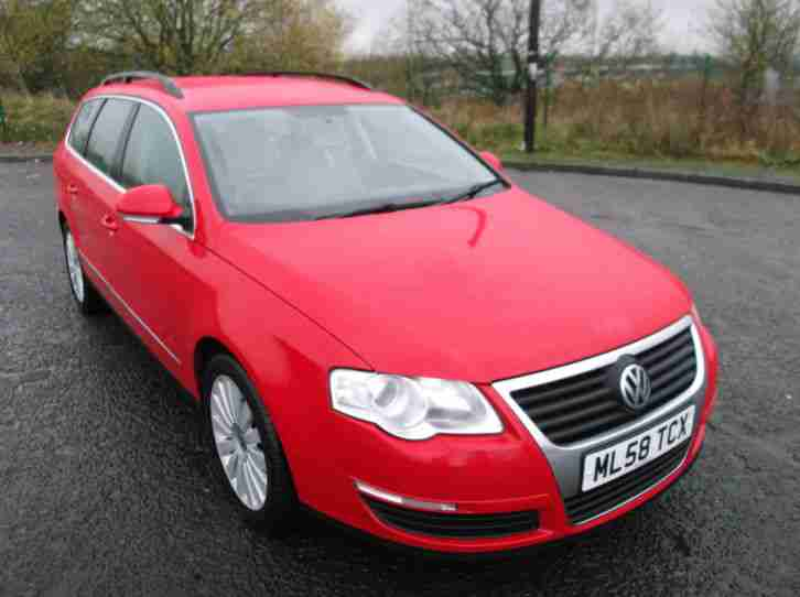 VW PASSAT HIGHLINE ESTATE 58/2008 2.0TDI 1OWNER ALL HPI CLEAR..