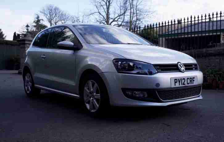 VW POLO 2012 1.2 Petrol
