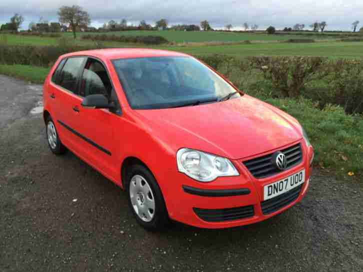 VW Polo 1.2e 55 2007 New shape 5dr, Full VW service history 1 lady owner frm new