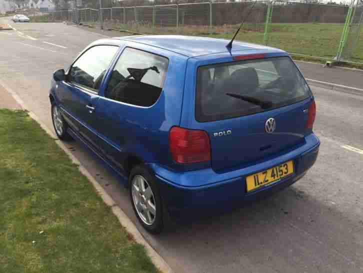vw polo 1 4 tdi se 80 bhp 2001 51 reg car for sale. Black Bedroom Furniture Sets. Home Design Ideas