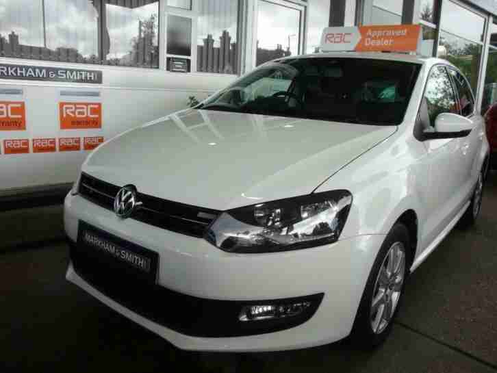 VW Polo MATCH EDITION 1.2 Petrol 5dr Just 19,050 from new FSH 4 Stamps