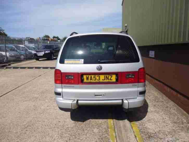 VW Sharan MPV SE TDI AUTO WHEELCHAIR ACCESSIBLE VEHICLE