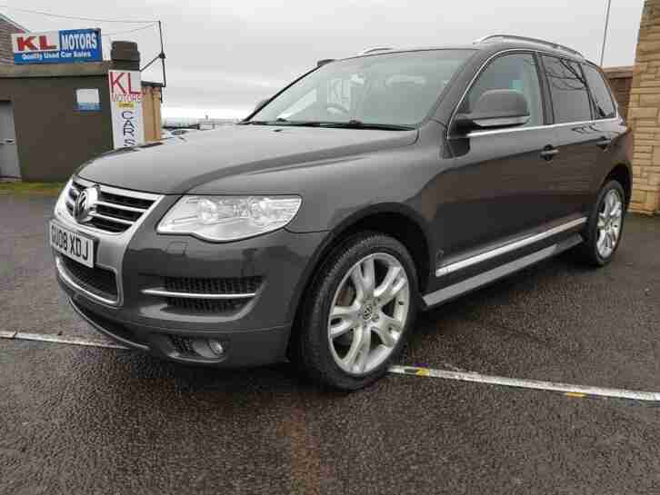 VW TOUAREG 5.0. Volkswagen car from United Kingdom