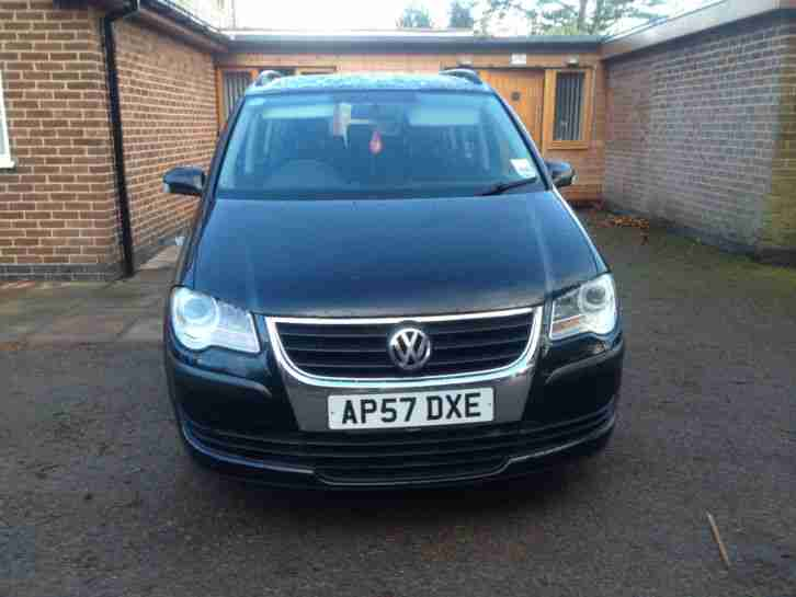 vw touran 2007 1 9tdi 7 seats engine needs attention car for sale. Black Bedroom Furniture Sets. Home Design Ideas