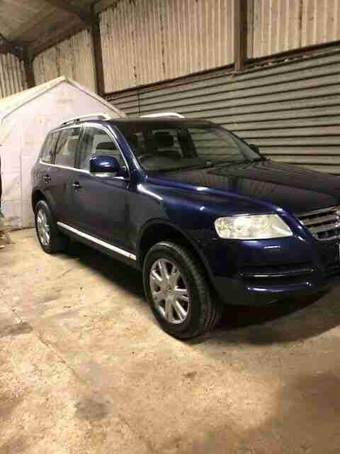 VW Touareg TDI. Volkswagen car from United Kingdom
