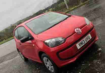 VW UP. Volkswagen car from United Kingdom