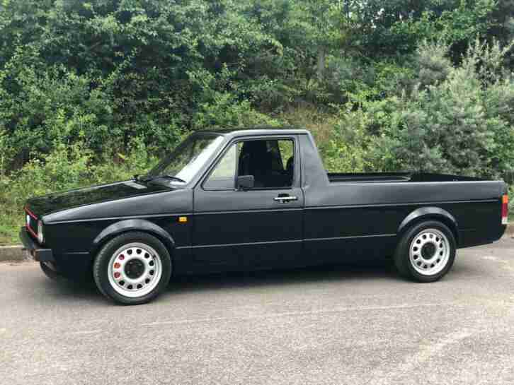 VW mk1 caddy. Volkswagen car from United Kingdom
