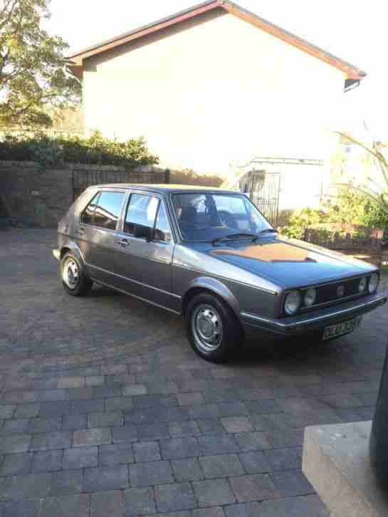 VW mk1 golf 1983 GX immaculate condition ..