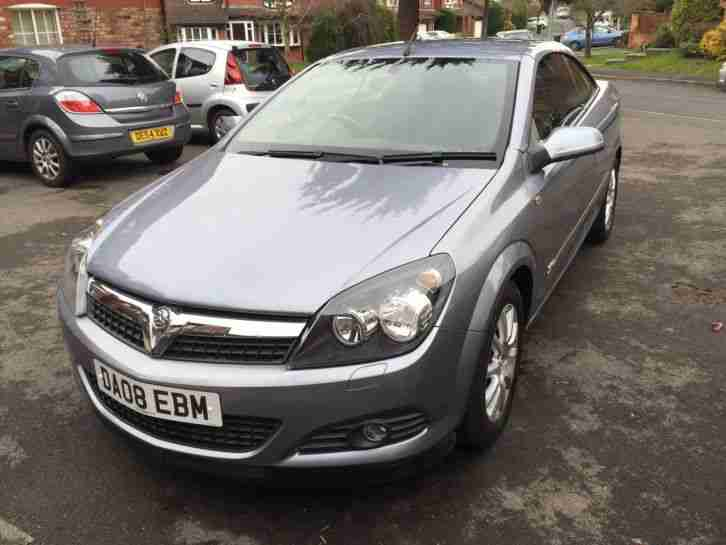 Vauxhall Astra 08 SPORT 1.6 petrol Convertible 46k mls full MOT FSH READ ADD!!!
