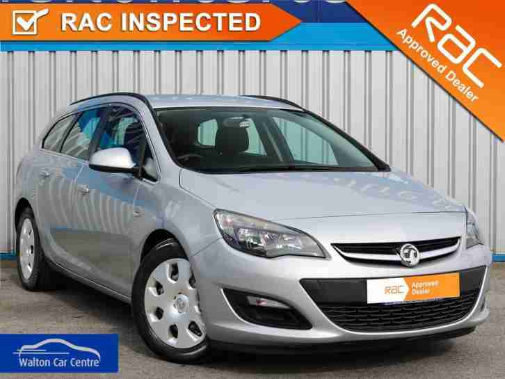 Vauxhall Astra 1.3. Vauxhall car from United Kingdom