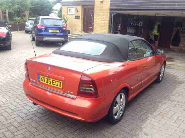 vauxhall astra 1 8 bertone convertible one owner car for sale. Black Bedroom Furniture Sets. Home Design Ideas