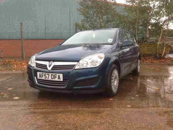 Vauxhall Astra 2007. Opel car from United Kingdom