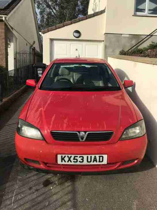 Vauxhall Astra Bertone Edition Coupe 2.2