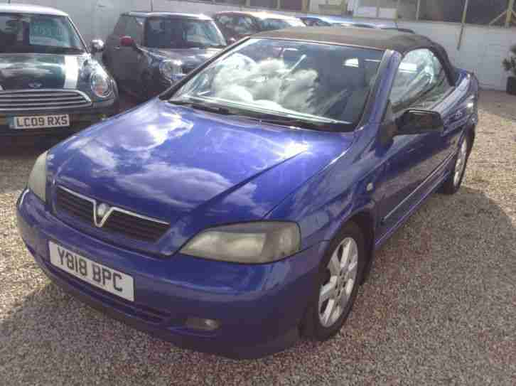 Vauxhall Astra Convertible 18 16v 2dr 2001 Car For Sale