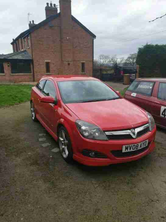 Vauxhall Astra SRI. Opel car from United Kingdom