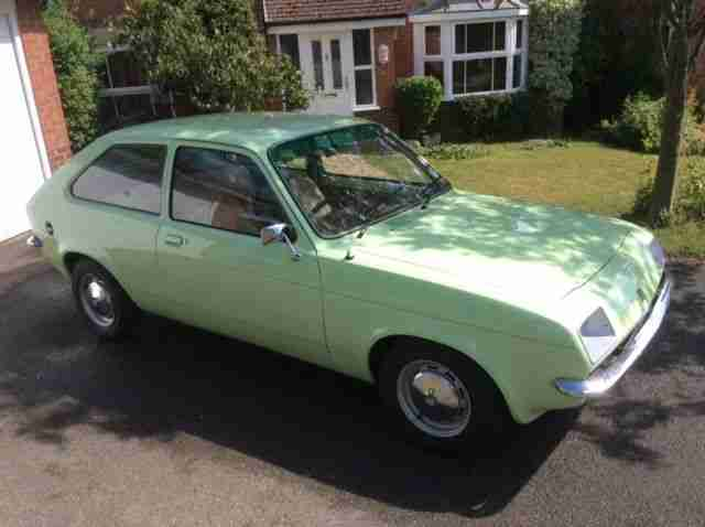 vauxhall chevette 1977 3 door hatch 1 family owner car for sale bay2car