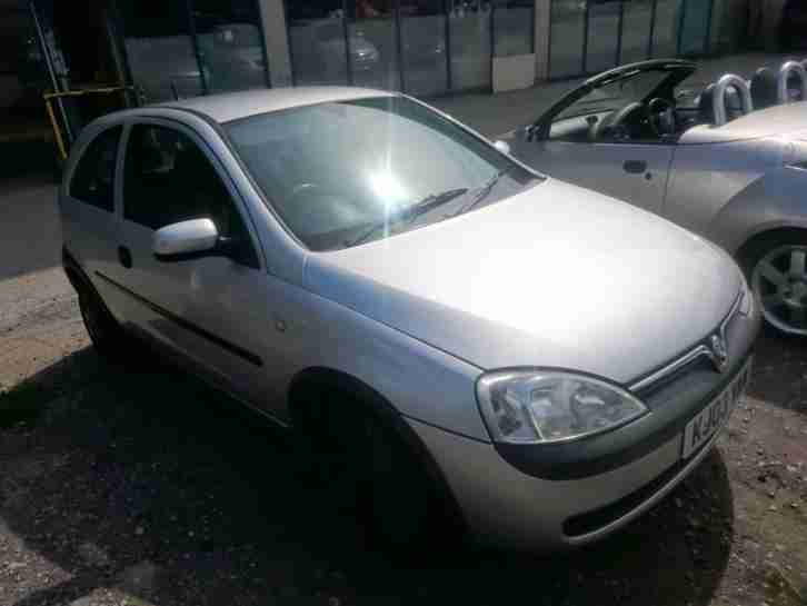 Vauxhall Corsa 1.0i. Vauxhall car from United Kingdom