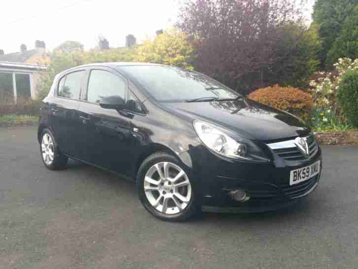 Vauxhall Corsa 1.2 SXi 5 door, 2010 59 reg MOT January 2018