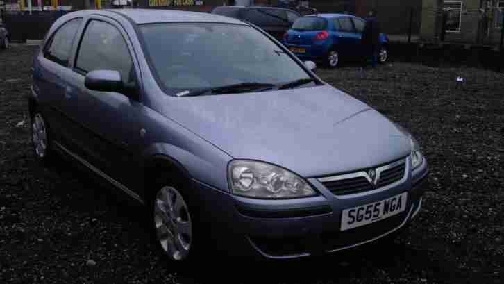 Vauxhall Corsa 1.2i. Opel car from United Kingdom