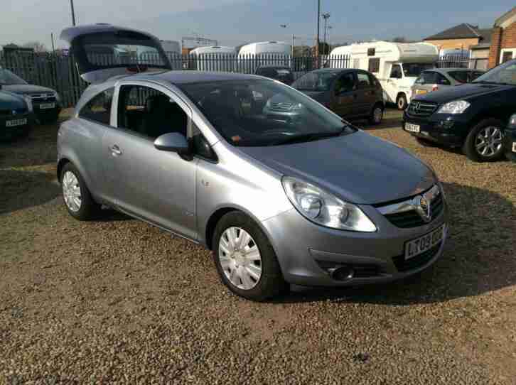 Vauxhall Corsa 1.3CDTi 16v ( 75ps ) ( a c ) EcoFlex 2009MY Club £20 ROAD TAX