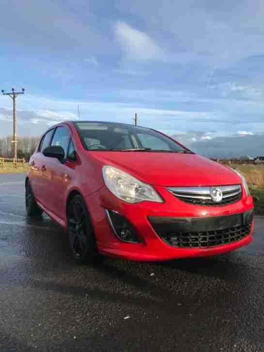 Vauxhall Corsa 2012. Opel car from United Kingdom