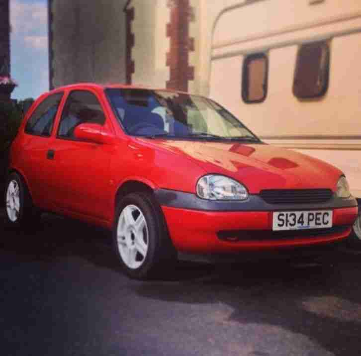 Vauxhall Corsa B 1.2, 11 Months MOT, Full Respray last year. Great first car
