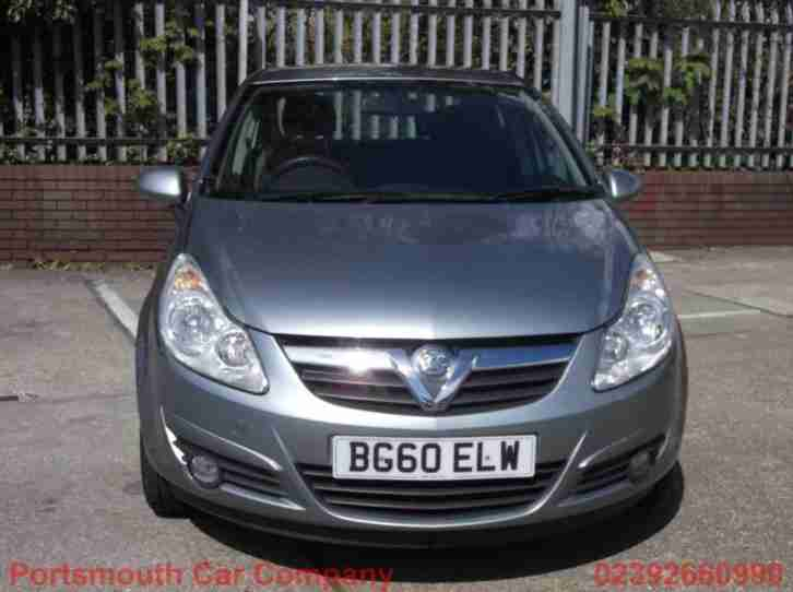 Vauxhall Corsa Exclusive Ac 5dr PETROL MANUAL 2010/60