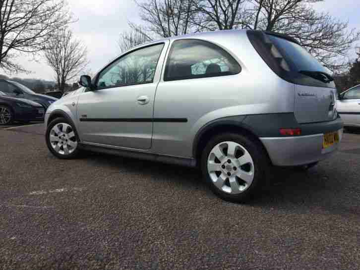 vauxhall corsa sxi 1 2l 2002 silver car for sale. Black Bedroom Furniture Sets. Home Design Ideas
