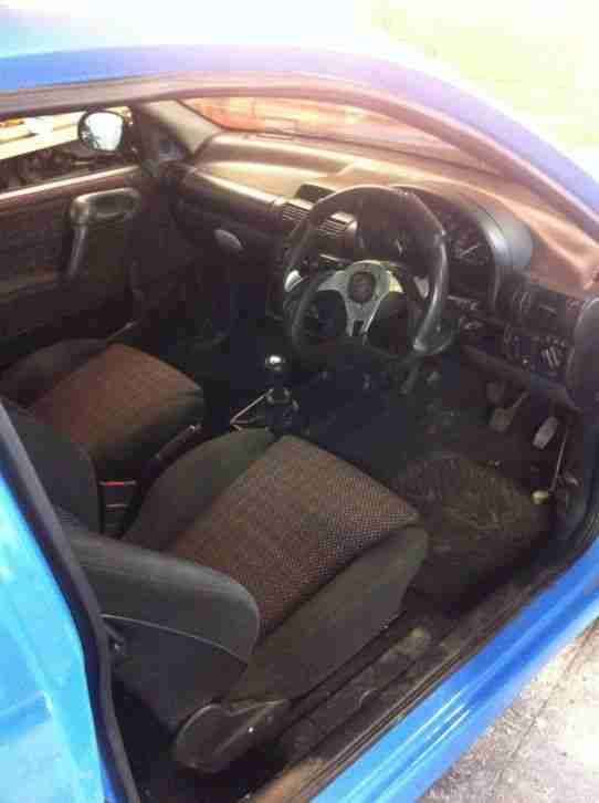 Vauxhall Corsa b 1.2 16v ( Redtop engine conversion project) ( Track car )