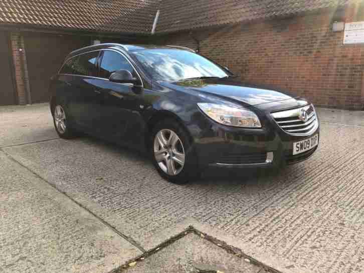 Vauxhall Insignia 2.0CDTi. Opel car from United Kingdom