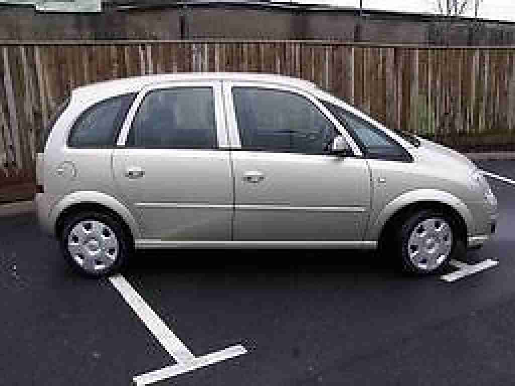 vauxhall meriva 1 6 low mileage car for sale. Black Bedroom Furniture Sets. Home Design Ideas