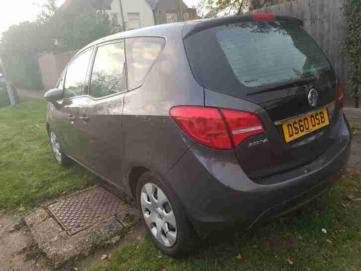 Vauxhall Meriva 2010. Opel car from United Kingdom